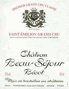 2010 Chateau Beau-Sejour Becot Saint-Emilion