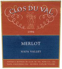 2010 Clos Du Val Merlot Napa Valley