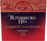 2013 Rutherford Hill Winery Cabernet Sauvignon Napa Valley