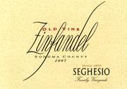 2009 Seghesio Family Vineyards Zinfandel Old Vines Sonoma County