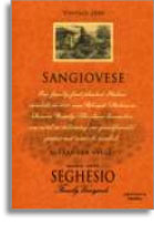 2009 Seghesio Family Vineyards Sangiovese