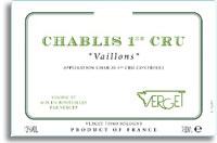 2011 Verget Chablis Vaillons