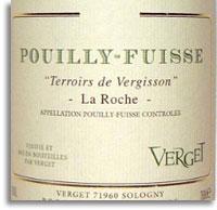 2012 Verget Pouilly-Fuisse Terroirs de Vergisson La Roche