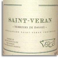 2011 Verget Saint-Veran Terroirs de Davaye