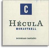 2004 Bodegas Castano Hecula Monastrell Yecla