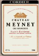 2010 Chateau Meyney Saint-Estephe (half bottle) (Pre-Arrival)