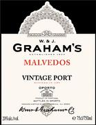 2009 Graham Vintage Port Malvedos