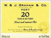 NV Graham Tawny Port 20 Year Old