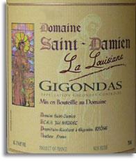 2010 Domaine Saint Damien Gigondas La Louisiane