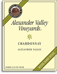 2011 Alexander Valley Vineyards Chardonnay Alexander Valley
