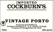 2007 Cockburn Vintage Port