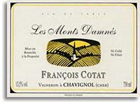 2010 Francois Cotat Sancerre Les Monts Damnes