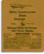 2009 Franz Hirtzberger Grauburgunder Smaragd Pluris