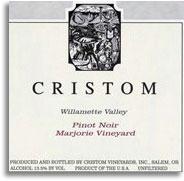 2013 Cristom Vineyards Pinot Noir Marjorie Vineyard Eola-Amity Hills