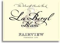 2009 Fairview Chenin Blanc La Beryl Straw Wine Blanc Paarl