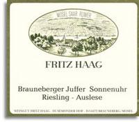 1997 Fritz Haag Brauneberger Juffer-Sonnenuhr Riesling Auslese #10