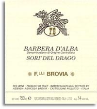 2010 Fratelli Brovia Barbera d'Alba Sori del Drago