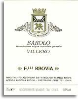 2011 Fratelli Brovia Barolo Villero