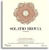 2006 Fratelli Brovia Dolcetto d'Alba Solatio