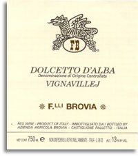 2009 Fratelli Brovia Dolcetto d'Alba Vignavillej