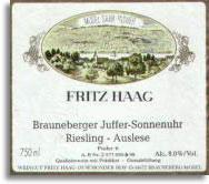 2006 Fritz Haag Brauneberger Juffer-Sonnenuhr Riesling Auslese #6