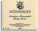 1992 Donnhoff Niederhauser Hermannshohle Riesling Auslese