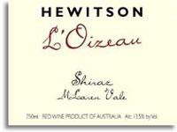 2004 Hewitson L'Oizeau Shiraz McLaren Vale