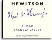 2011 Hewitson Shiraz Ned & Henry's Barossa Valley