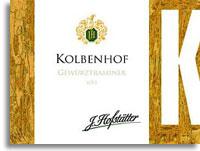 2010 Hofstatter Gewurztraminer Kolbenhof Alto Adige