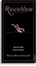 2009 Rosenblum Cellars Zinfandel Monte Rosso Vineyard Sonoma