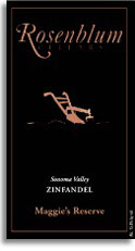 2006 Rosenblum Cellars Zinfandel Samsel Vineyard Maggie's Reserve