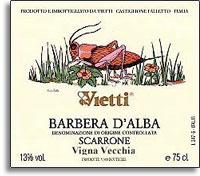 2010 Vietti Barbera d'Alba Scarrone Vigna Vecchia