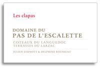 2009 Domaine du Pas de l'Escalette Les Clapas Rouge