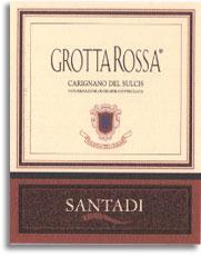 2004 Cantina Di Santadi Grotta Rossa Carignano Del Sulcis
