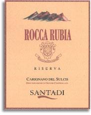 2006 Cantina Di Santadi Rocca Rubia Riserva Carignano Del Sulcis