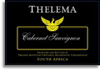 2009 Thelema Mountain Vineyards Cabernet Sauvignon Stellenbosch