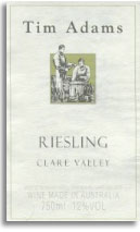 2010 Tim Adams Wines Riesling Clare Valley