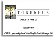 2010 Torbreck Vintners Descendant Barossa Valley