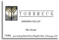 2010 Torbreck Vintners The Struie Barossa Valley