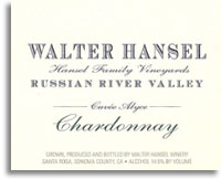 2002 Walter Hansel Winery Chardonnay Cuvee Alyce Russian River Valley