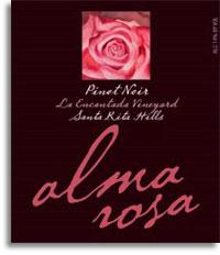 2010 Alma Rosa Winery And Vineyards Pinot Noir La Encantada Vineyard Sta Rita Hills