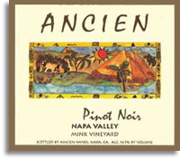 2009 Ancien Winery Pinot Noir Mink Vineyard Napa Valley