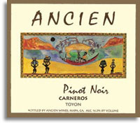 2012 Ancien Winery Pinot Noir Toyon Farm Carneros