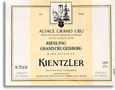 2012 Andre Kientzler Riesling Geisberg