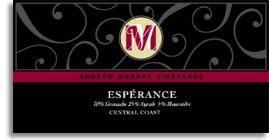 2010 Andrew Murray Vineyards Esperance Central Coast