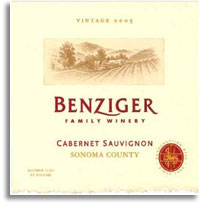 2006 Benziger Family Winery Cabernet Sauvignon Sonoma County