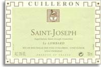 2010 Domaine Yves Cuilleron Saint-Joseph Blanc Le Lombard