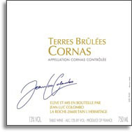 2010 Jean Luc Colombo Cornas Terres Brulees