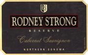 2007 Rodney Strong Vineyards Cabernet Sauvignon Reserve Sonoma County