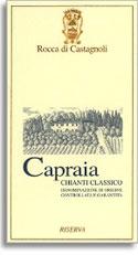 2000 Rocca Di Castagnoli Chianti Classico Riserva Capraia